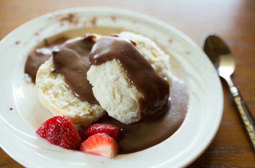 Chocolate Gravy? It Makes Perfect Sense in Arkansas