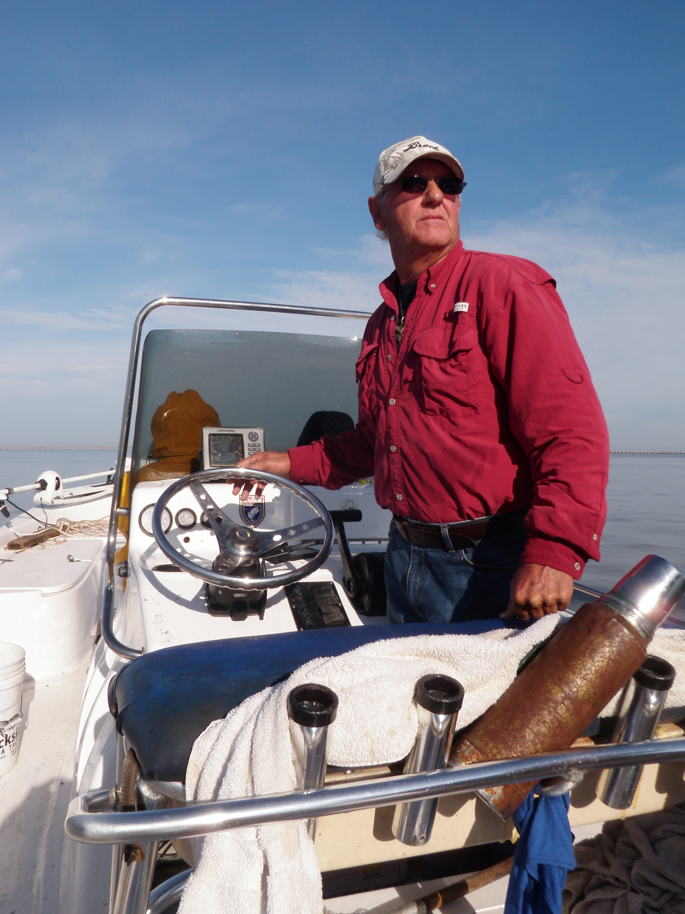 Fish Tales and Life Stories on Lake Pontchartrain