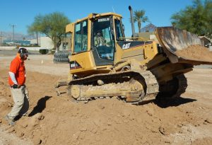 Firing Up a Bulldozer in a Las Vegas Sandbox for Adults