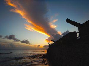 Dramatic Sky Over Barbados