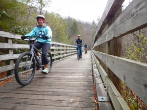 Winter on the Virginia Creeper Trail