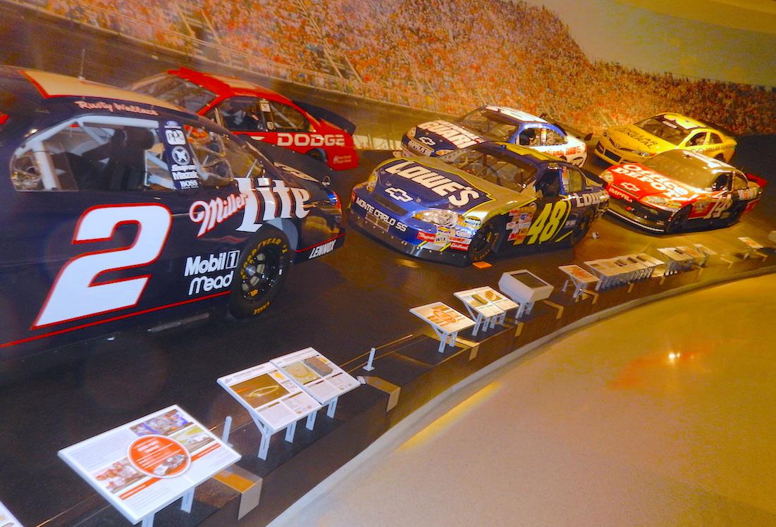 Keep Turning Left at NASCAR Hall of Fame