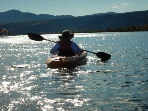 Paddling Past the Casinos in Laughlin, Nevada